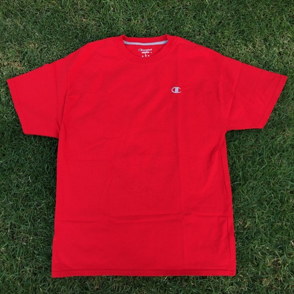 f2641424 Champion Shirts | Sold Red Shirt | Poshmark